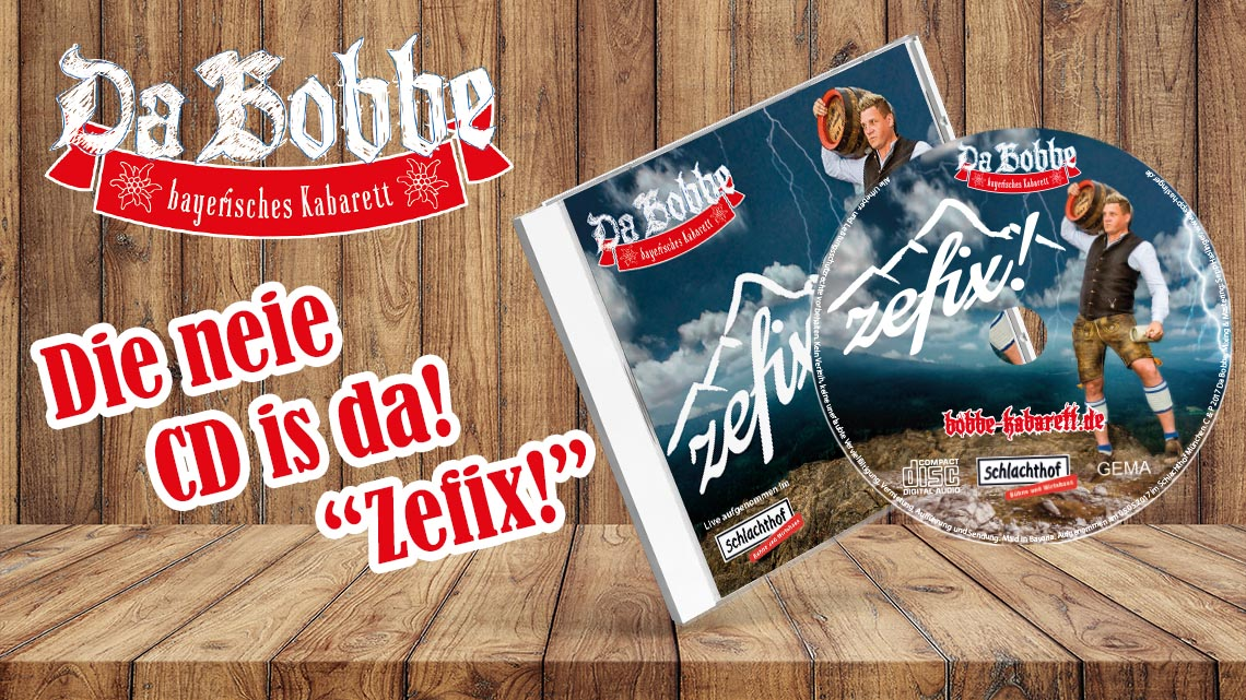 Do gibt's de Zefix! CD