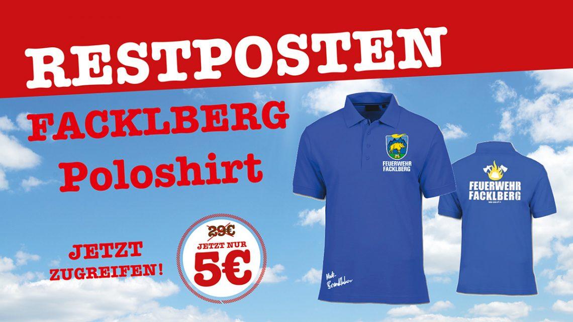 Facklberg Poloshirt's Restposten!
