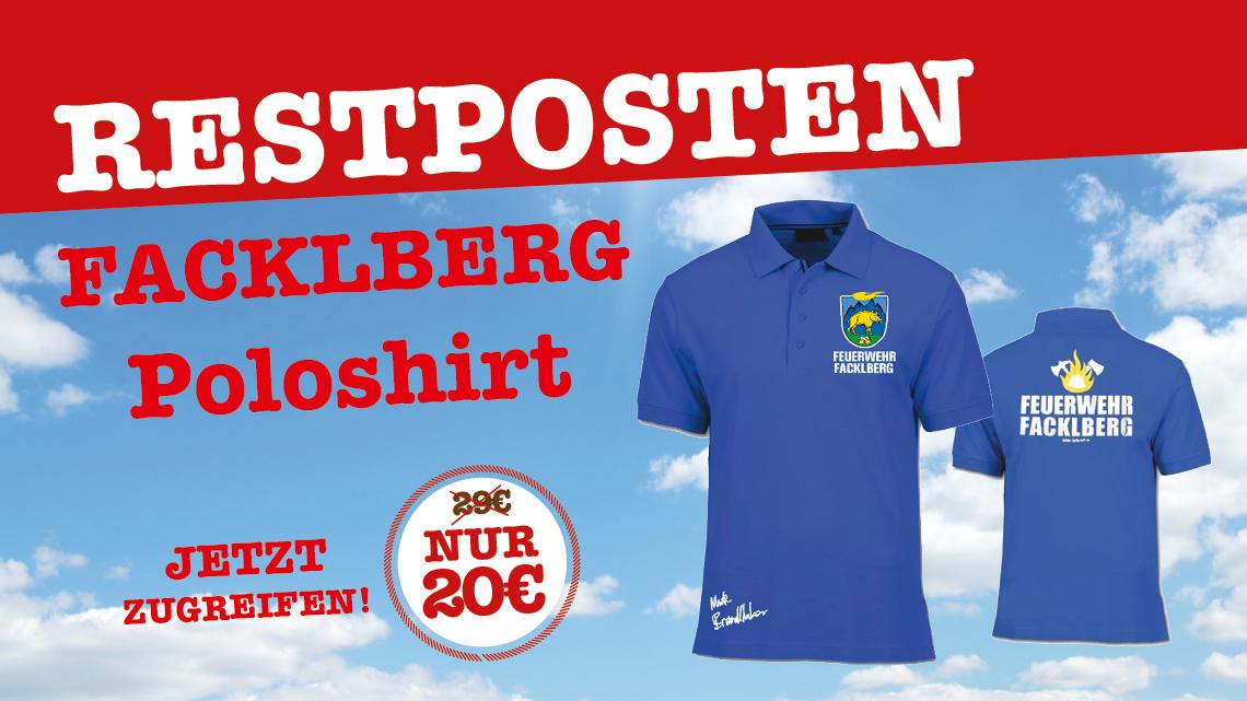 Facklberg Polos Restposten!
