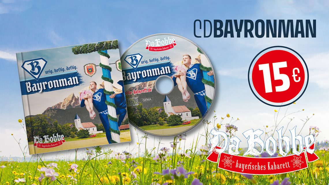 "NEU ""Bayronman"" CD Jetzt kaufen"