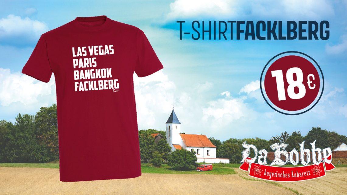 """Hol dir das Sonderedition Städte-Shirt """"Facklberg"""""""